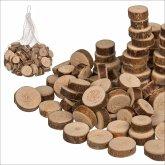 Holz-Dekoscheiben 250 gr im Netz