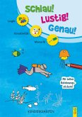 Schlau-Lustig-Genau - Kindergarten