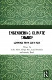 Engendering Climate Change: Learnings from South Asia