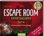 Escape Room Adventskalender. Weihnachtliche Schnitzeljagd. 24 knifflige Rätsel zum Aufschneiden