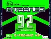 D.Trance 92 (Incl.D-Techno 49)