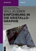 Einführung in die Kristallographie (eBook, ePUB)
