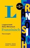 Langenscheidt Abitur-Wörterbuch Französisch - Klausurausgabe