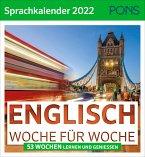 PONS Sprachkalender 2022 Englisch