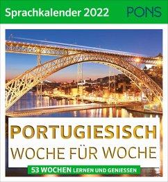PONS Sprachkalender 2022 Portugiesisch