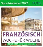 PONS Sprachkalender 2022 Französisch