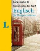 Langenscheidt Sprachkalender Englisch für Fortgeschrittene 2022