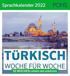 PONS Sprachkalender 2022 Türkisch