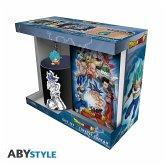 ABY style - Dragon Ball Goku Giftset 320 ml Becher, PVC-Keyring und Notizbuch