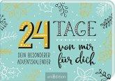 24 Tage von mir für dich. Dein besonderer Adventskalender