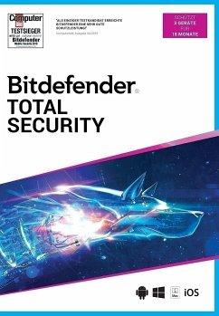 Bitdefender Total Security 2021 3 Geräte / 18 Monate