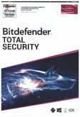 Bitdefender Total Security 2021 5 Geräte / 18 Monate