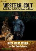 WESTERN-COLT, Band 25: JONES KEHRT ZURÜCK (eBook, ePUB)