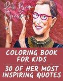 Ruth Bader Ginsburg Coloring Book for Kids