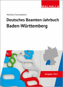 Deutsches Beamten-Jahrbuch Baden-Württemberg 2021 - Walhalla Fachredaktion