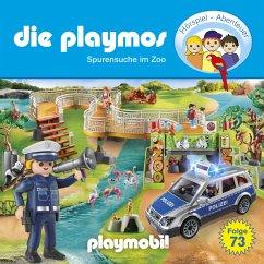 Die Playmos, Folge 73: Spurensuche im Zoo (Das Original Playmobil Hörspiel) (MP3-Download) - Dittert, Christoph; Berenz, Björn; Fickel, Florian