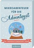 Mikroabenteuer für die Adventszeit. 24 Inspirationskärtchen