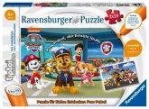 Ravensburger 00069 - tiptoi®, Puzzle für kleine Entdecker: Paw Patrol, 2x12 Teile Puzzle für Kinder