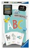 Ravensburger 80347 - ABC-Kartenspiel, Lernen Lachen Selbermachen, Lernspiel