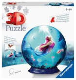 Ravensburger 11250 - Bezaubernde Meerjungfrau, 3D-Puzzleball, 72 Teile