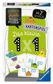 Ravensburger 80350 - Das kleine 1x1, Kartenspiel, Lernen Lachen Selbermachen, Lernspiel