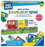Ravensburger 4187 - ministeps®, Mein erstes Eisenbahn Spiel, Puzzle, Würfelspiel