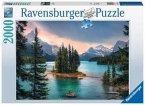 Ravensburger 16714 - Spirit Island Canada, Puzzle, 2000 Teile
