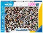Ravensburger 16744 - Disney, Mickey Challenge, Puzzle, 1000 Teile