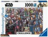 Ravensburger 16770 - Star Wars, Baby Yoda, Challenge, Puzzle, 1000 Teile