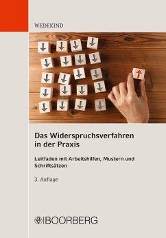 Das Widerspruchsverfahren in der Praxis (eBook, ePUB) - Wedekind, Birgit