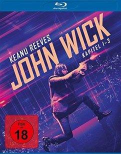 John Wick: Kapitel 1 - 3 Box BLU-RAY Box - John Wick: Kapitel 1-3/3bd