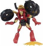 Hasbro F02445L0 - Marvel Avengers Bend and Flex, Flex Rider Iron Man Action-Figur, 15 cm große biegbare Figur