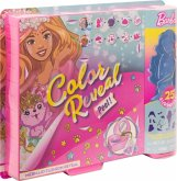 Mattel GXV93 Barbie Color Reveal Puppe & Pet Fantasy Fashion Mermaid