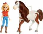 Spirit Puppe Abigail & Pferd Boomerang