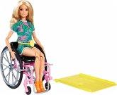 Barbie Fashionistas Barbie Puppe (blond) mit Rollstuhl