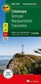 Chiemsee, Simssee, Marquartstein, Traunstein, Wander + Radkarte 1:50.000, mit Outdoor Guide