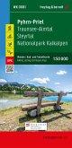 Pyhrn-Priel - Almtal - Steyrtal - Nationalpark Kalkalpen, Wander + Radkarte 1:50.000