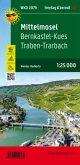 Mittelmosel - Bernkastel-Kues - Traben-Trarbach, Wanderkarte 1:25.000