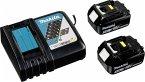 Makita Energy Kit 197624-2 2x BL1850B + DC18RC