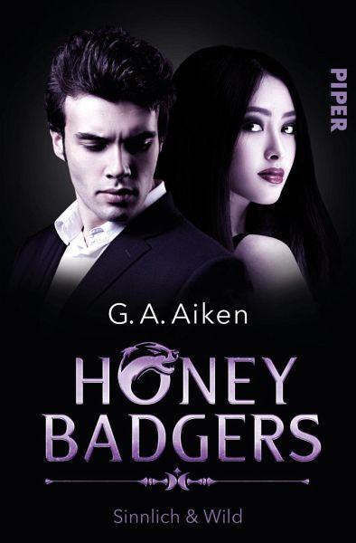 Buch-Reihe Honey Badgers