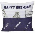 Sofahelden Happy Birthday blau