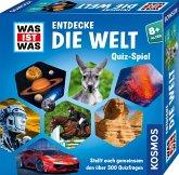 KOSMOS 687748 - Was ist was, Entdecke die Welt, Wissens Quiz Spiel