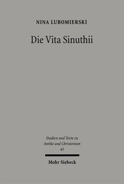 Die Vita Sinuthii (eBook, PDF) - Lubomierski, Nina