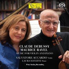 Music For Violin And Piano (Analog Master Edition) - Accardo,Salvatore & Manzini,Laura