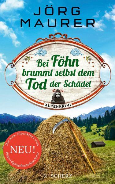 Buch-Reihe Kommissar Jennerwein ermittelt von Jörg Maurer