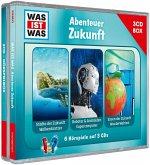 WAS IST WAS 3-CD Hörspielbox. Abenteuer Zukunft
