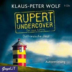 Rupert undercover. Ostfriesische Jagd ( 5 Audio-CDs) - Wolf, Klaus-Peter