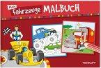Mein Fahrzeuge-Malbuch