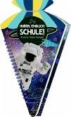 Schultüten-Kratzelbuch - Cosmic School - Hurra, endlich Schule! (Astronauten)
