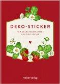 Deko-Sticker (Rote Beeren, Küchenpapeterie)